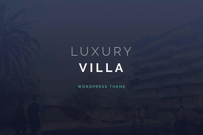 Luxusvilla - Property Showcase WordPress Thema