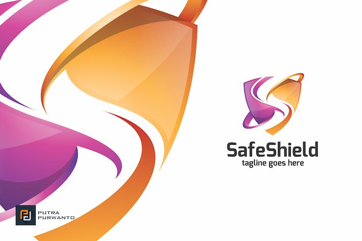 Cover Image For Safe Shield / S Letter - Logo Template