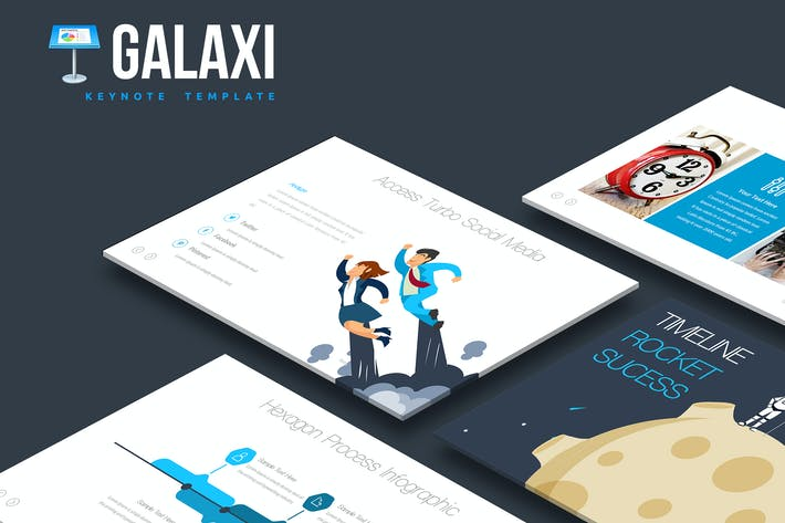 Thumbnail for Galaxi Keynote Template