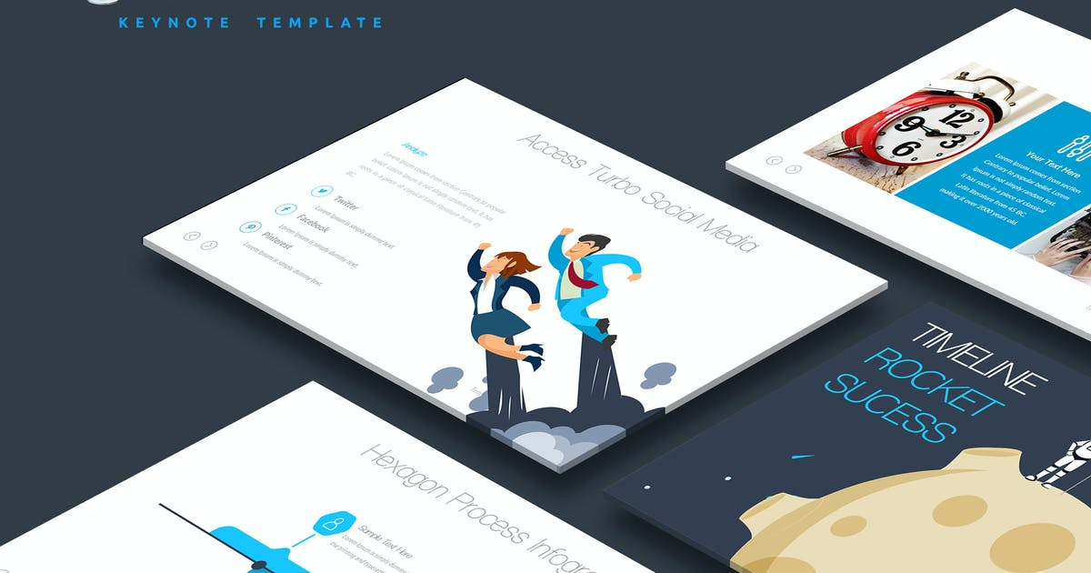 Download Galaxi Keynote Template by Unknow