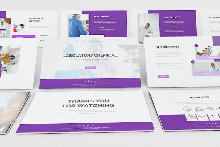 Thumbnail for Chemical Google Slides Template