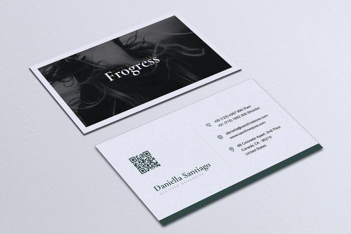 Thumbnail for Modern Minimalist Business Card Vol. 04