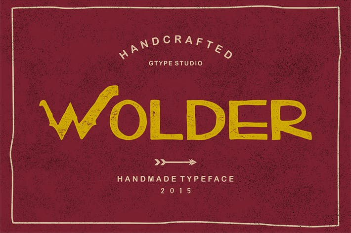 Thumbnail for Wolder Typeface