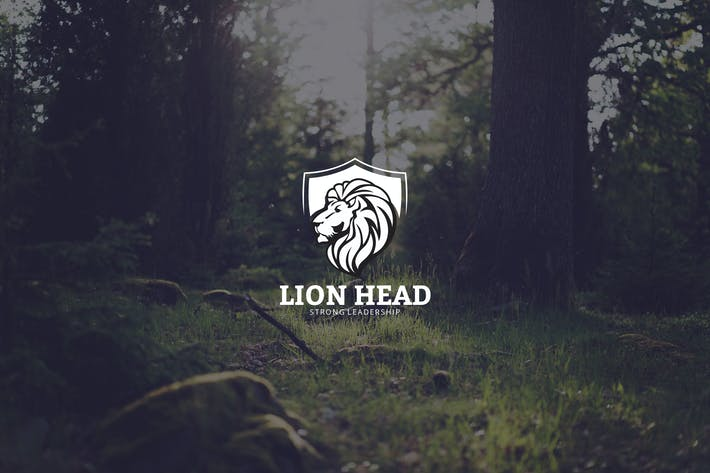 Thumbnail for Lion Head Logo