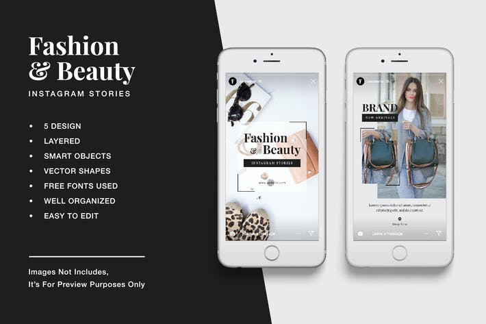 Thumbnail for Fashion & Beauty Instagram Stories
