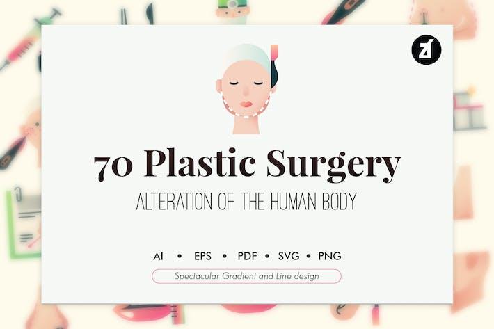 Thumbnail for 70 Plastic surgery elements