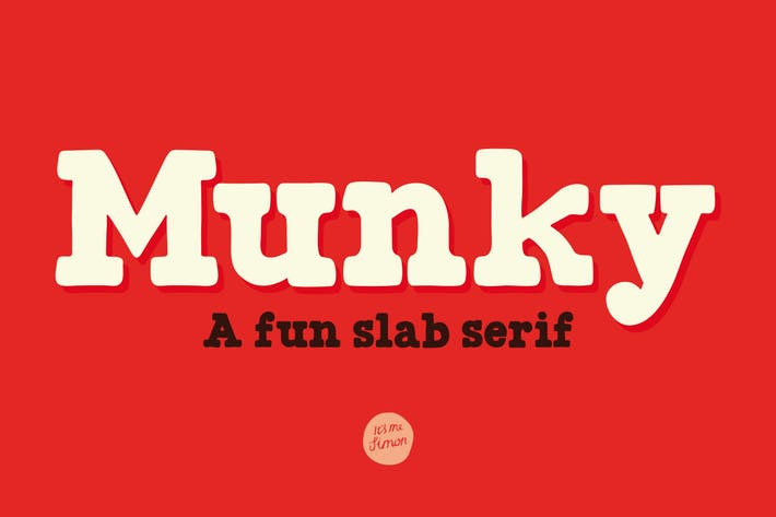 Thumbnail for Munky font