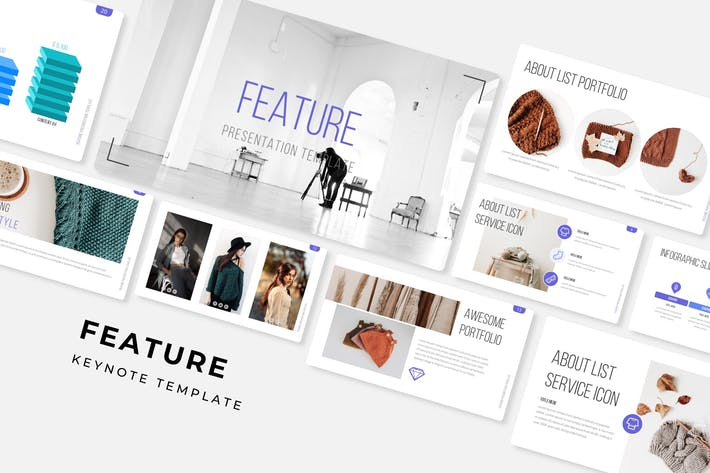 Cover Image For Feature - Keynote Template