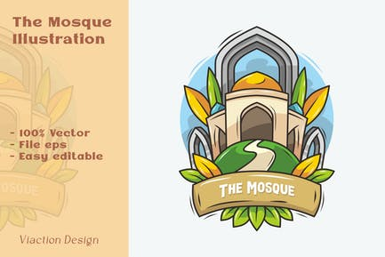 DV - Illustration de la mosquée