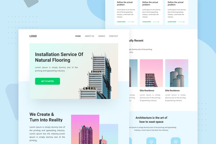 Modern Architecture and Interio - Email Newsletter