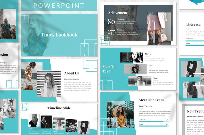 Thumbnail for Times - Business Powerpoint Template