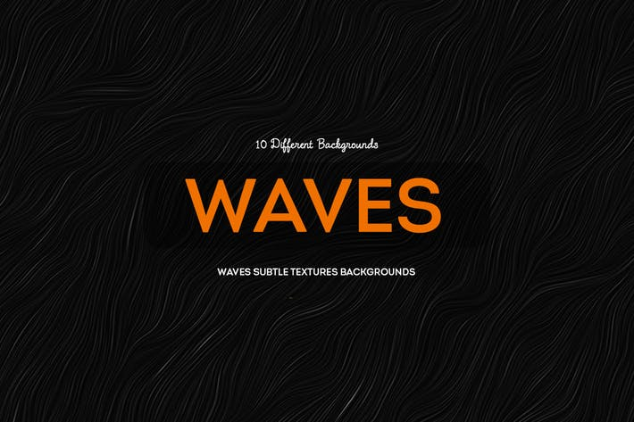 Cover Image For Waves Subtle Textures Backgrounds