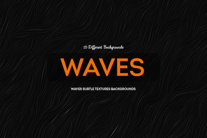 Thumbnail for Waves Subtle Textures Backgrounds