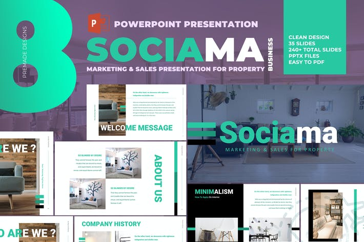 Thumbnail for Sociama - Powerpoint Presentation