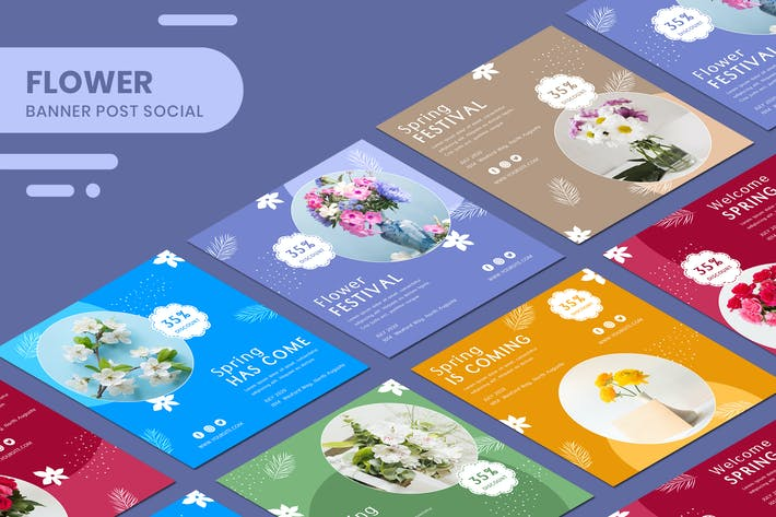 Thumbnail for BlumenBanner Vorlagen