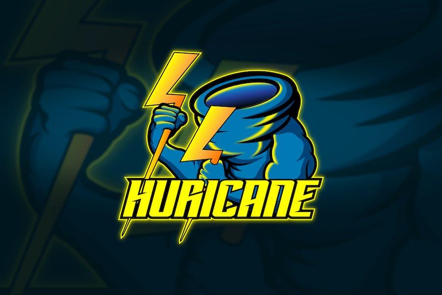Huricane - Mascot & Esport Logo