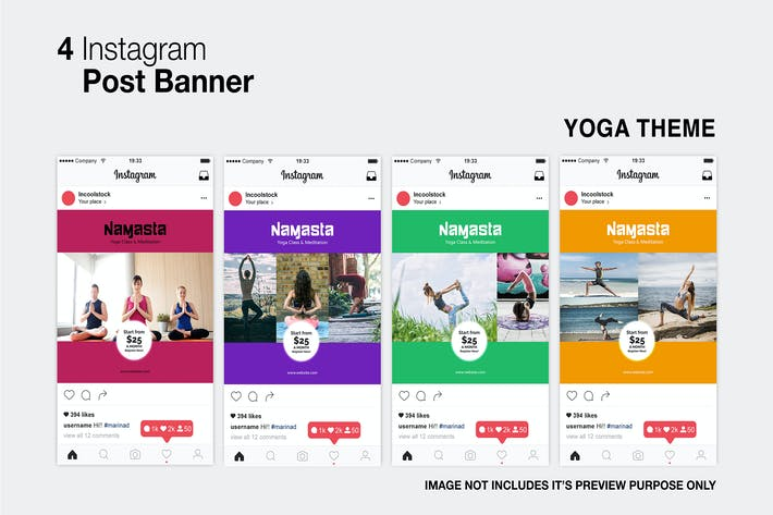 Cover Image For Yoga Instagram Post