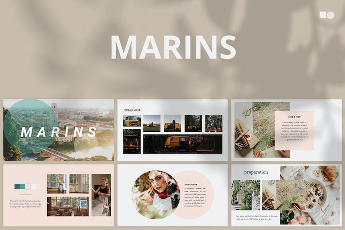 Thumbnail for Marins - Google Slides