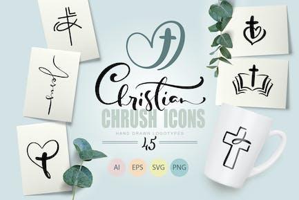 Christian Church Icons