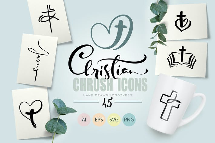 Thumbnail for Christian Church Icons