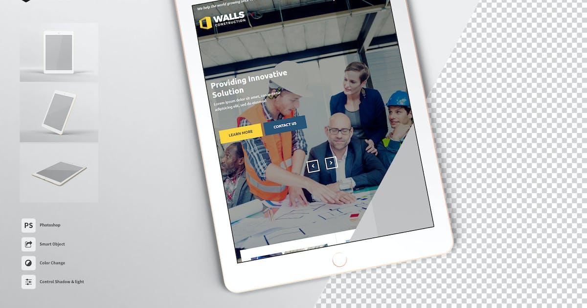 Download Ipad Tablet Screen Mockup vol.1 FH by Rometheme