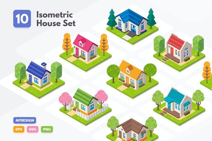 Thumbnail for Isometric House Set