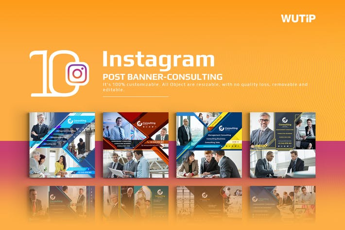 Thumbnail for 10 Instagram Post Banner-Consulting