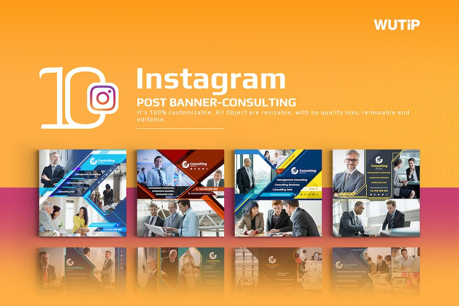 10 Instagram Post Banner-Consulting