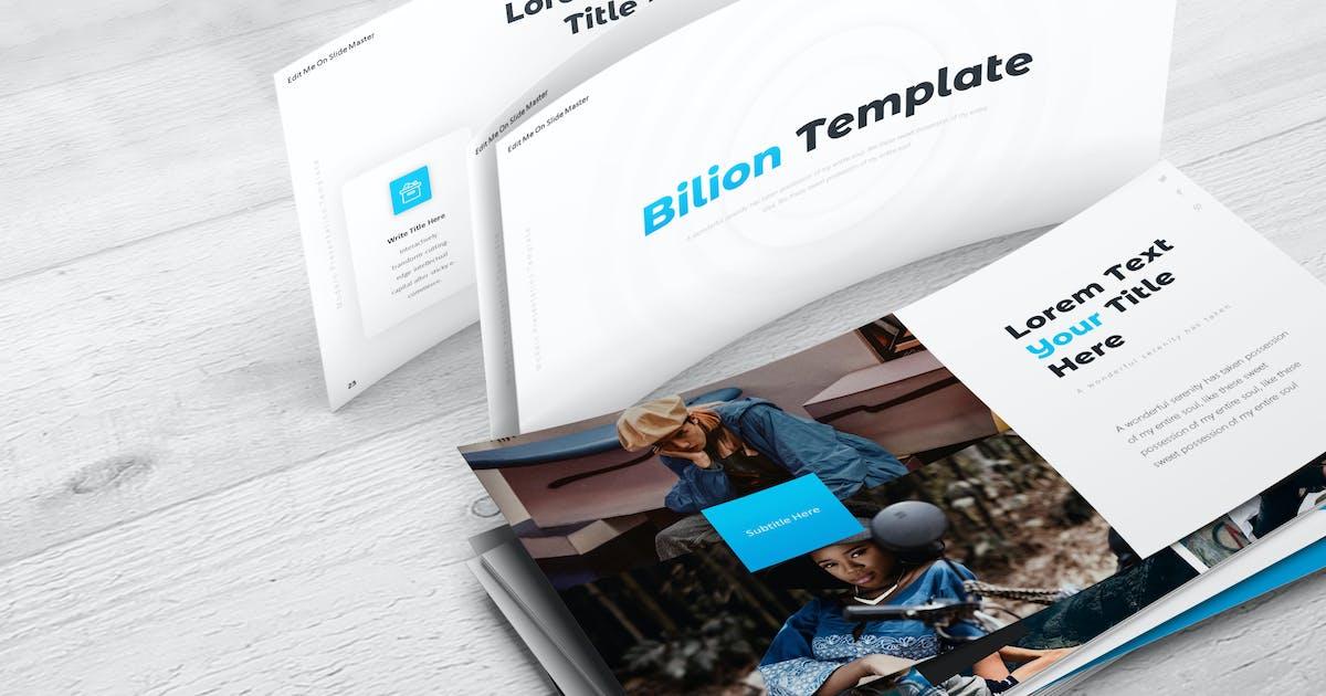 Download Bilion - Keynote Template by aqrstudio