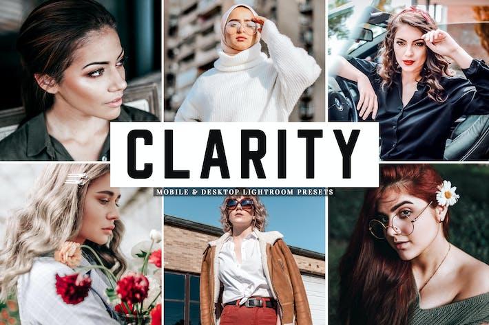 Thumbnail for Clarity Mobile & Desktop Lightroom Presets