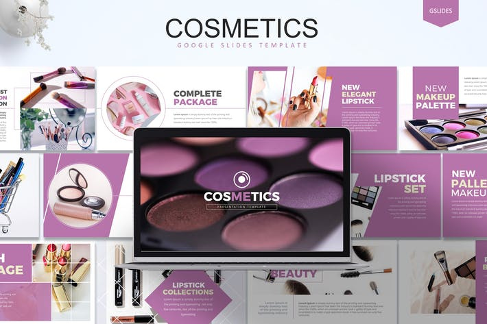 Thumbnail for Cosmetics -  Google Slides Template
