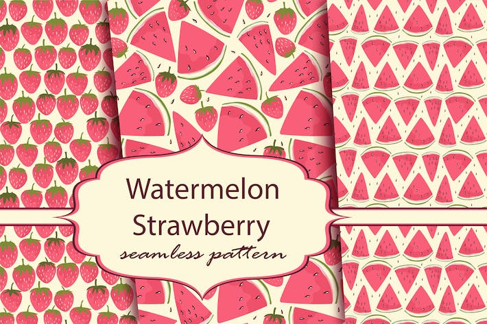 Thumbnail for Watermelon and strawberry
