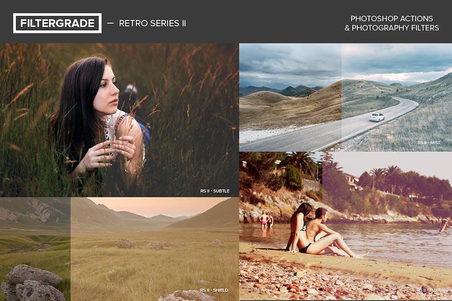 FilterGrade Retro Series II Photoshop Actions