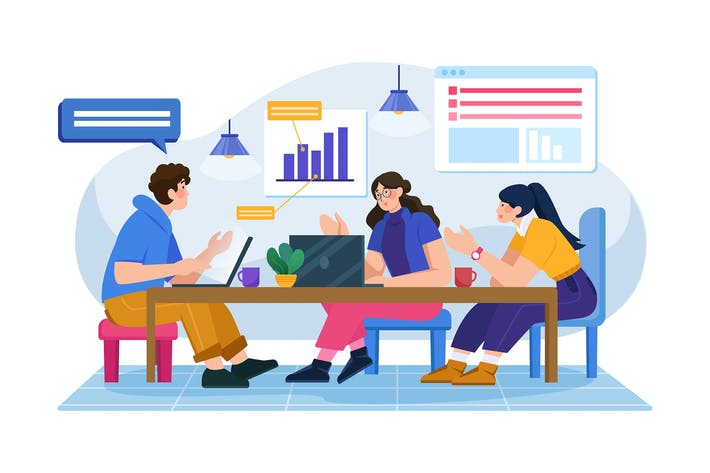 Thumbnail for Startup-Team diskutiert Wachstumsbericht
