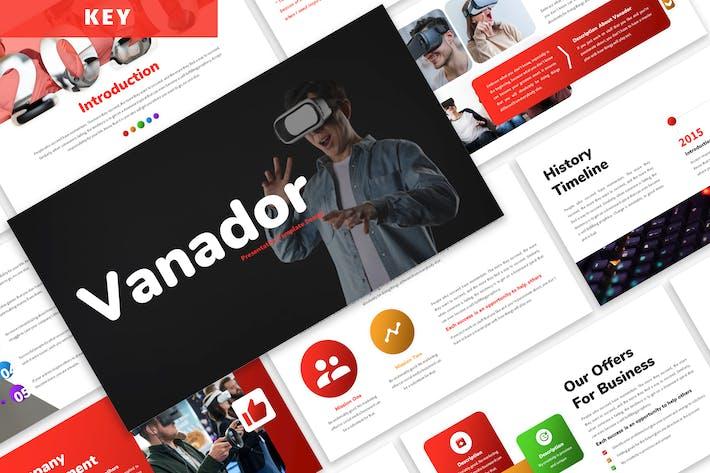 Thumbnail for Vanador - Business Keynote Template