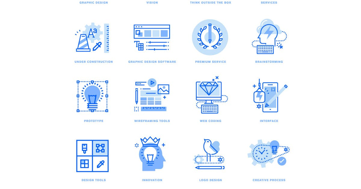 Download Graphic Design and Creative Process by PureSolution