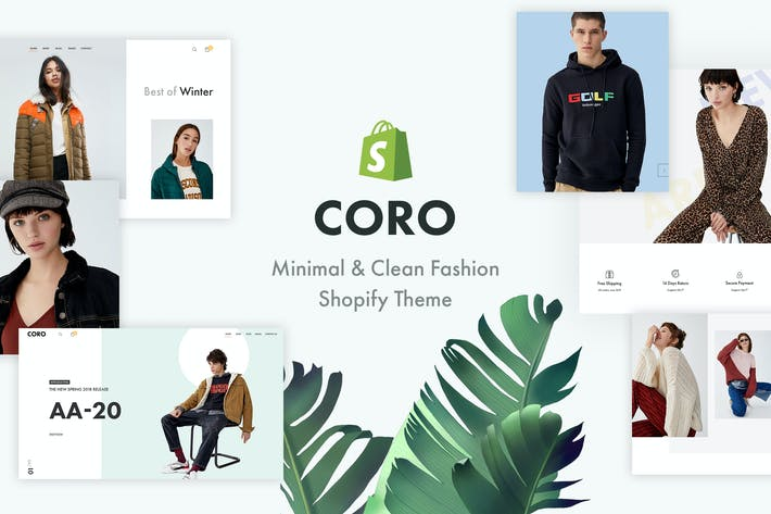 Thumbnail for CORO — Tema de Shopify Minimal & Clean Fashion