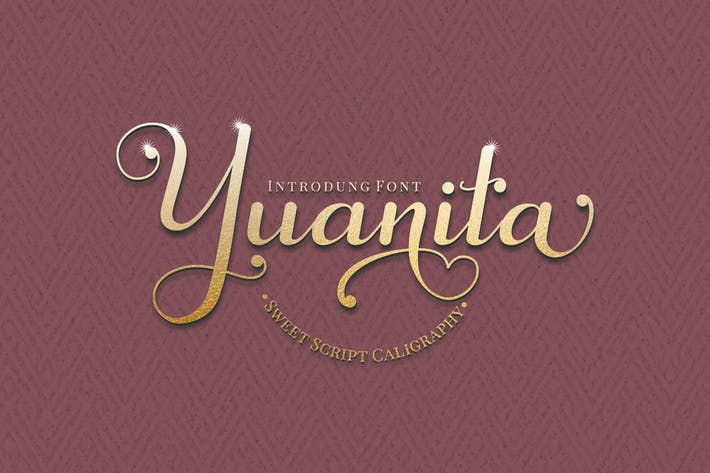 Yuanita - Modern Calligraphy Font