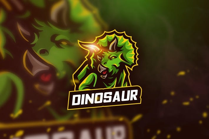 Thumbnail for Dinosaur - Mascot & Esport Logo
