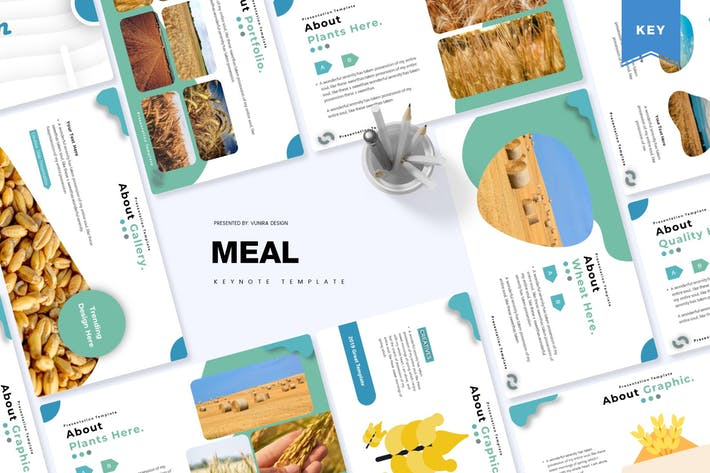 Thumbnail for Meal | Keynote Template