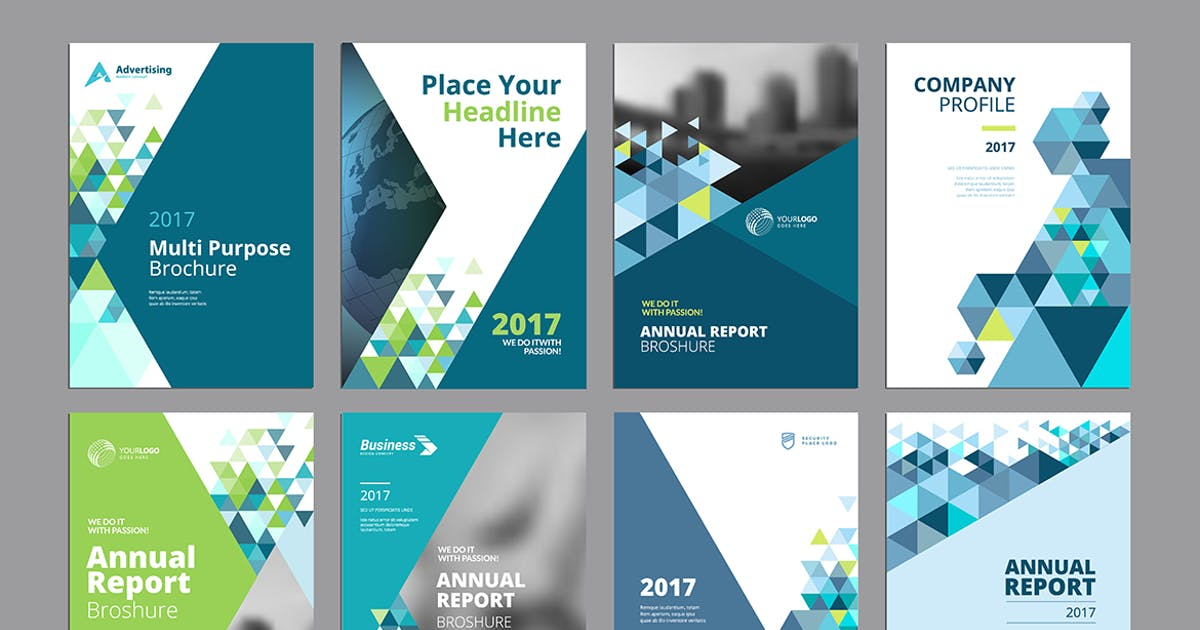 Download Brochure, annual report, flyer design templates by PureSolution