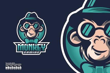 Monkey Esport Logo Template