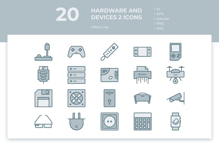 Thumbnail for 20 Hardware and Device 2 (Filled Line)