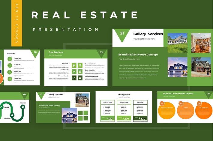 Thumbnail for Real Estate Google Slides Presentation