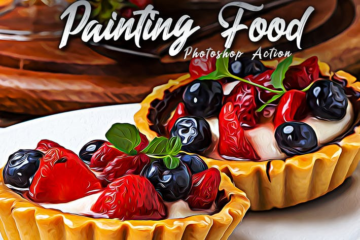 Thumbnail for Painting Food Photoshop Actions