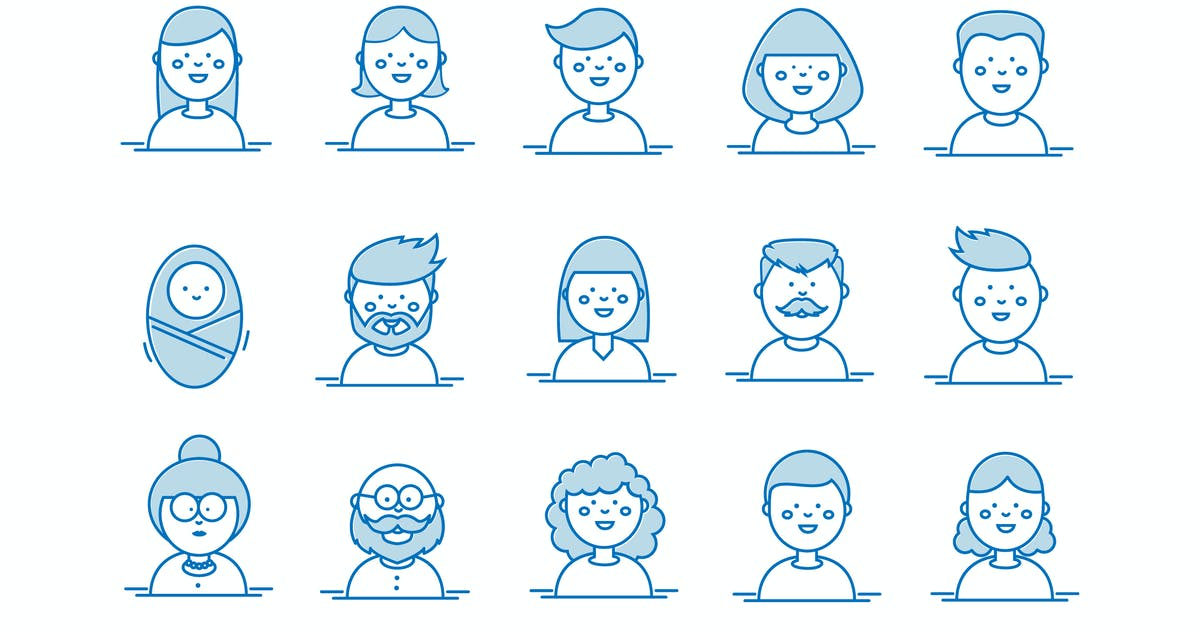 Download People's Faces by Jumsoft