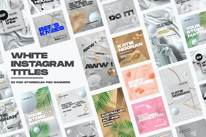 Thumbnail for White Instagram Pack