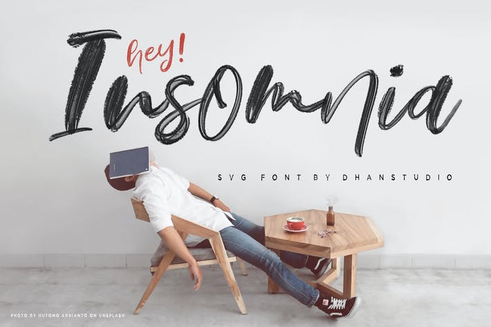 Thumbnail for Hey Insomnia SVG Font