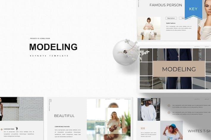 Thumbnail for Modeling | Keynote Template