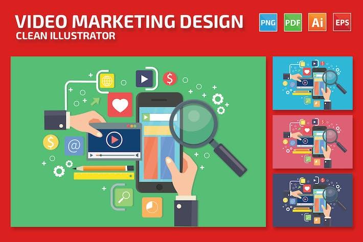 Video marketing-Design